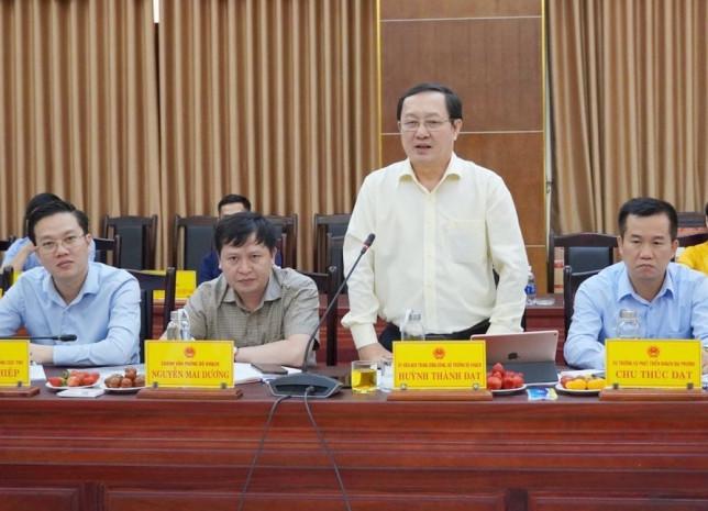 Ông Huỳnh Thành Đạt, Bộ trưởng Bộ Khoa học và Công nghệ, làm Chủ tịch Hội đồng cấp Nhà nước xét tặng Giải thưởng Hồ Chí Minh, Giải thưởng Nhà nước về khoa học và công nghệ đợt 6. Ảnh: Thanh Thủy/TTXVN