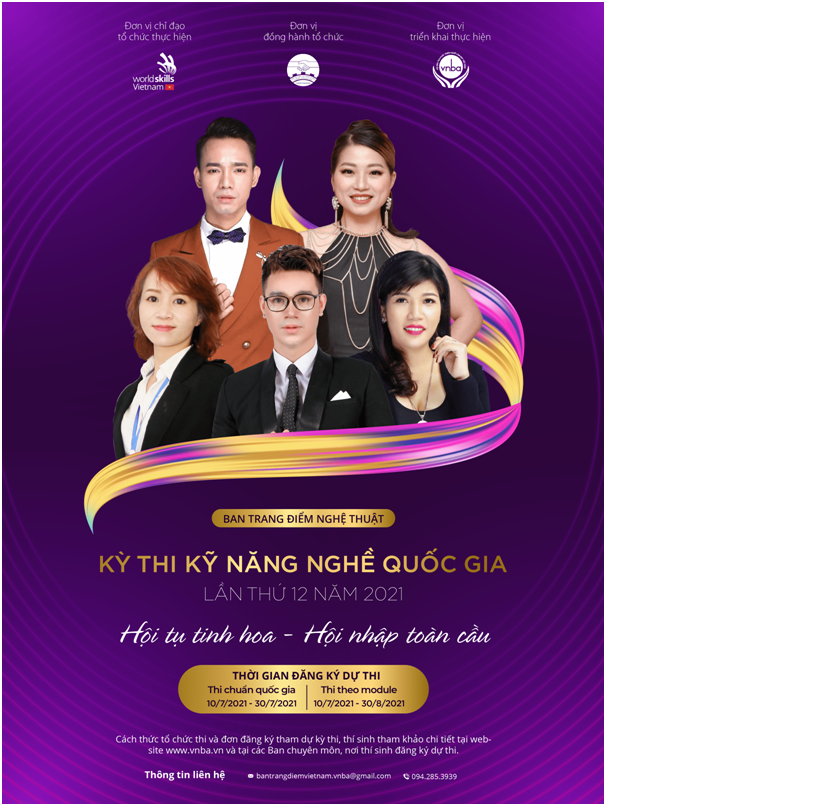 Ban trang điểm nghệ thuật Email: bantrangdiemvietnam.vnba@gmail.com; ĐT liên hệ: 0942.853939