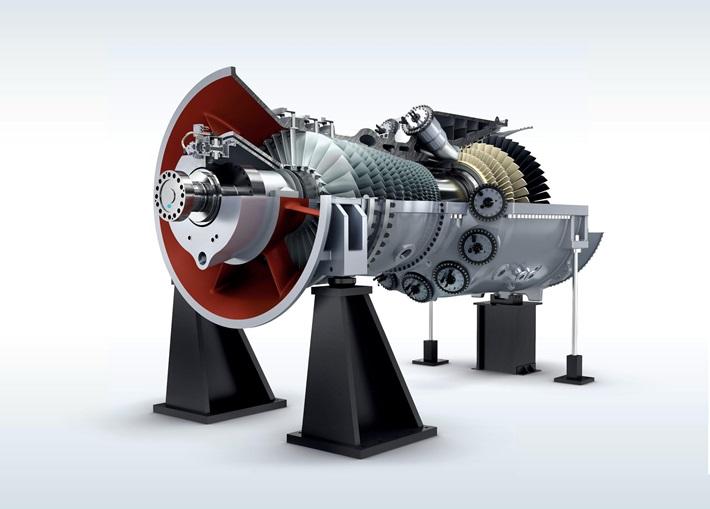 Tua bin khí thế hệ HL của Siemens