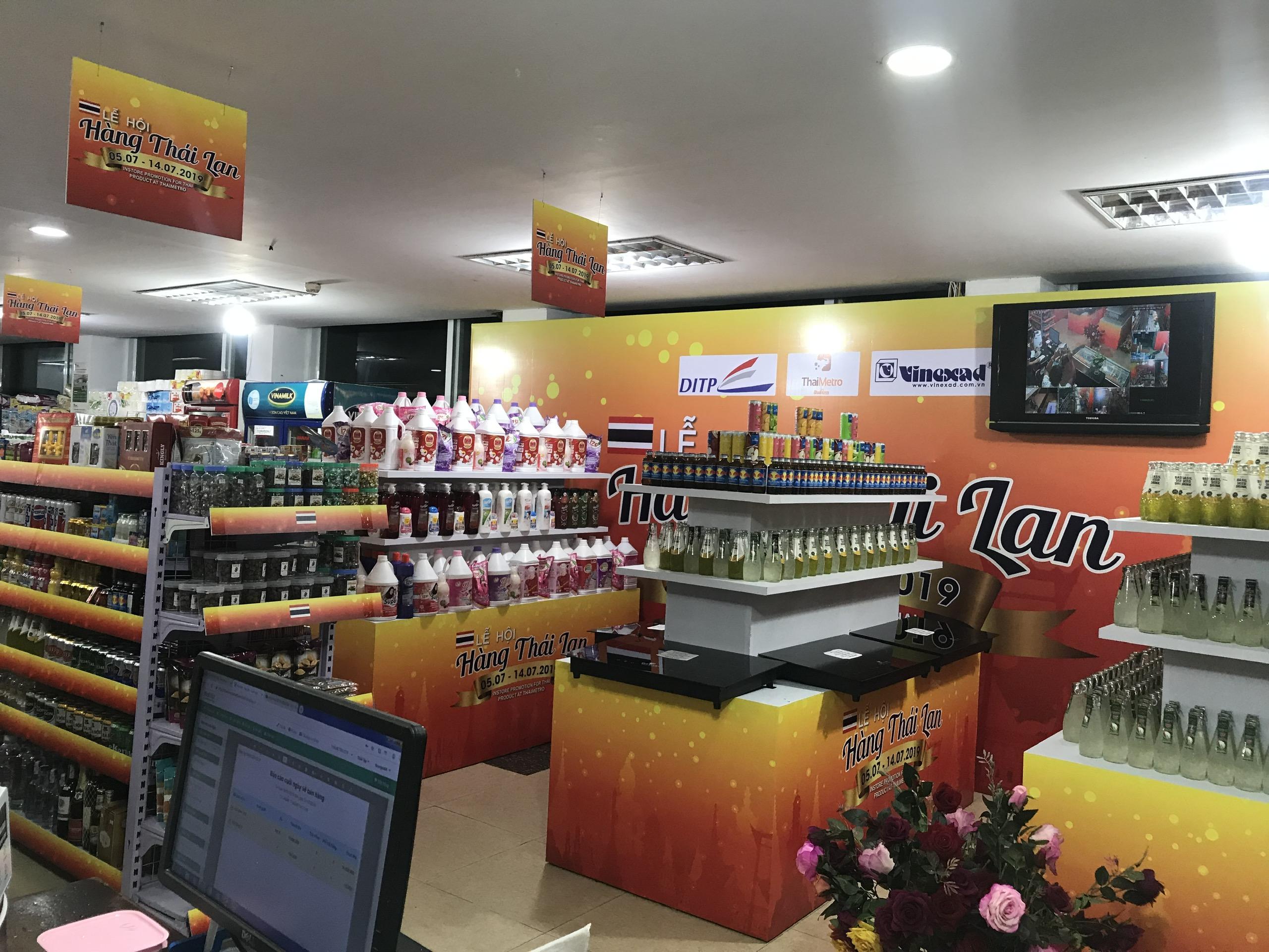 Các sản phẩm hàng Thái Lan