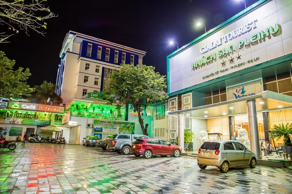 Khách sạn Pleiku, một trong những cơ sở cách ly tập trung tại tỉnh Gia Lai. Ảnh: Internet.