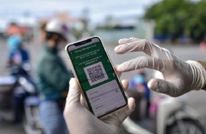 TP. HCM: người dân ở quận 7, Củ Chi, Cần Giờ được thí điểm cấp mã QR (ảnh minh họa).