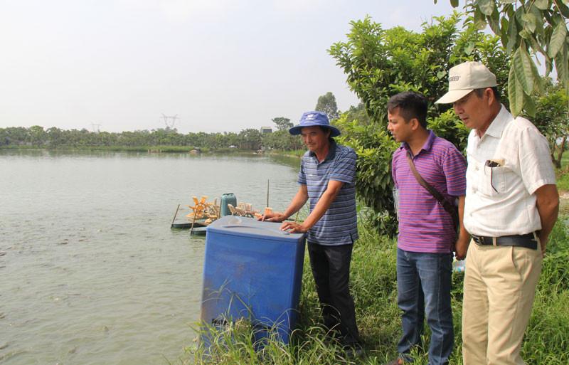 Hà Nội sẽ mở rộng diện tích nuôi trồng thủy sản.