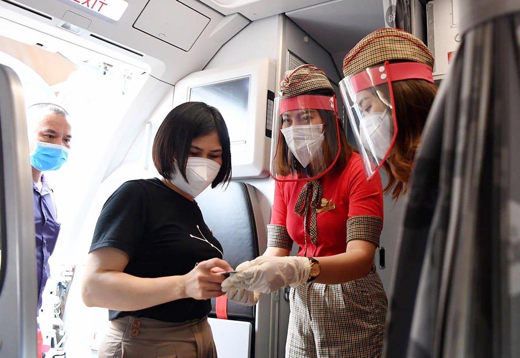 Hãng hàng không thế hệ mới Vietjet luôn đồng hành cùng Chính phủ và người dân trong công cuộc phòng chống dịch Covid - 19