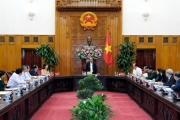 Thủ tướng Chính phủ làm việc với lãnh đạo chủ chốt tỉnh An Giang