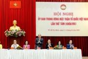 Thủ tướng Chính phủ dự Hội nghị Ủy ban Trung ương Mặt trận Tổ quốc Việt Nam lần thứ 8
