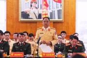 Hà Nội: Ra quân bảo đảm trật tự an toàn giao thông đầu năm 2018