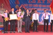 Bệnh viện Đa khoa Thanh Chương nhận Huân chương lao động hạng Ba