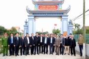 Thủ tướng Nguyễn Xuân Phúc thăm, làm việc tại huyện Hải Hậu