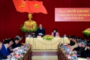 Thủ tướng Nguyễn Xuân Phúc thăm, làm việc tại tỉnh Yên Bái