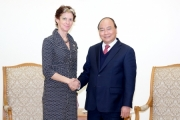 Thủ tướng Nguyễn Xuân Phúc tiếp trợ lý Tổng Thư ký Liên hợp quốc