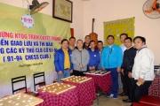 Kiện tướng quốc gia Trần Quyết Thắng giao lưu cờ tướng với CLB Cờ 91-94 Hà Nội
