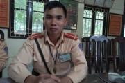 Chiến sỹ CSGT dũng cảm cứu người trong đám cháy