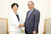 Thủ tướng mong muốn GEF hỗ trợ Việt Nam giải quyết các vấn đề môi trường