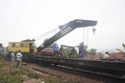 Tàu đấu đầu ở Quảng Nam do lỗi tác nghiệp trong ga
