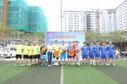 Giao lưu bóng đá chào mừng ngày Báo chí cách mạng Việt Nam