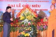 Nghệ An: Đại lễ Cầu siêu các Thanh niên hy sinh tại Cống Hiệp Hòa, xã Hòa Sơn, Huyện Đô Lương