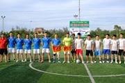 Tạp chí Doanh nghiệp và Thương hiệu giao hữu bóng đá với Đoàn Thanh niên Thị xã Cửa Lò