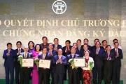 Danh sách 71 dự án được Hà Nội trao chấp thuận chủ trương đầu tư, nhiều dự án bất động sản vốn khủng