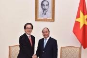 Thủ tướng Nguyễn Xuân Phúc tiếp Chủ tịch JETRO thăm Việt Nam