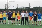 Tạp chí DN&TH giao lưu bóng đá với phường Hàng Bột