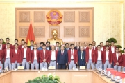 Thủ tướng Chính phủ gặp mặt đoàn thể thao Việt Nam dự ASIAD