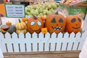 Bí ngô Halloween độc đáo tại VinMart