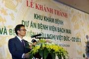 Làm sao để cơ sở 2 BV Bạch Mai, Việt Đức ở Hà Nam có uy tín như Hà Nội?
