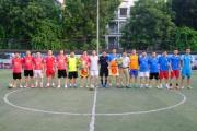 Tạp chí Doanh nghiệp và Thương hiệu giao lưu bóng đá với UBND phường Văn Quán