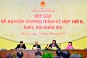 Luật Chăn nuôi, Trồng trọt được xem xét, thông qua tại kỳ họp thứ 6