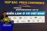 """""""Sàn diễn"""" ô tô lớn nhất Việt Nam 2018 chính thức khai màn"""
