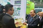 Sản phẩm sữa của Vinamilk ra mắt người tiêu dùng Trung Quốc
