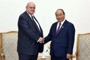 Thủ tướng Chính phủ Nguyễn Xuân Phúc tiếp Đại sứ Brazil