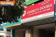 """Cửa thép vân gỗ GUANGYI DOORS vi phạm luật quảng cáo, """"tự nhận"""" là số 1 Việt Nam?"""