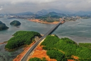 Cận cảnh cao tốc 12.000 tỷ xuyên rừng kết nối với sân bay Vân Đồn