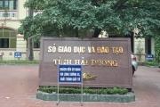 Giám đốc Sở GD-ĐT Hải Dương cùng hàng chục cán bộ bỏ nhiệm sở đi tham quan trong ngày làm việc