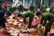 """Phát hiện một loạt vụ """"nhập"""" pháo hoa, ma túy vào Việt Nam thời điểm cuối năm"""