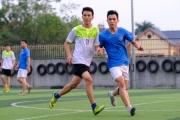 Giao lưu bóng đá FC.DNTH và Đội 15 CSGT ĐB - ĐS Công an TP. Hà Nội: Trận hòa vỡ òa cảm xúc