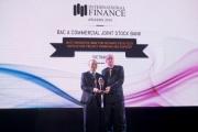 BAC A BANK nhận giải thưởng quốc tế về đầu tư nông nghiệp sạch ở nước ngoài