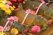 Cỗ cá Đền Trần - nét văn hóa lưu giữ hơn 700 năm