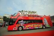 Xe buýt miễn phí phục vụ phóng viên quốc tế tham quan Hà Nội