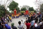 Thái Bình: Độc đáo rước kiệu quay Lễ hội đền - chùa Phượng Vũ