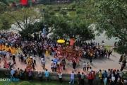 Lễ rước kiệu đẹp mắt tại Lễ hội Cổ Loa 2019