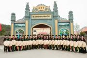 """Thí sinh """"Người đẹp Kinh Bắc"""" hào hứng trải nghiệm văn hóa quan họ"""