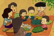 Bánh chưng xưa và nay - chuyện của người trẻ