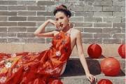 Á hậu Khánh Phương quyến rũ nồng nàn đón năm mới