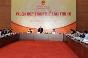 Phiên họp toàn thể lần thứ 16 Ủy ban Pháp luật của Quốc hội