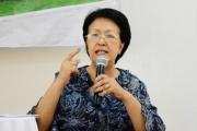 Bà Tôn Nữ Thị Ninh: Phải có hoài bão cho đất nước, dân tộc