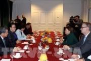 Gặp Chủ tịch Quốc hội Nguyễn Thị Kim Ngân, lãnh đạo Tập đoàn SAFRAN nói 'muốn đầu tư sản xuất lâu dài'