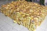 Nghệ An: Bắt và thu giữ hơn 600kg nghi là ma túy đá.